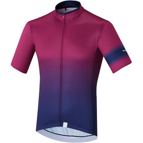 Shimano Mirror Cool SS Jersey Men, purple